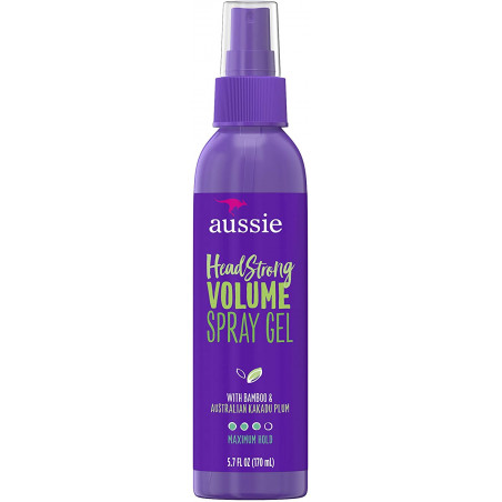 Aussie Headstrong Volume Spray Gel with Bamboo &amp