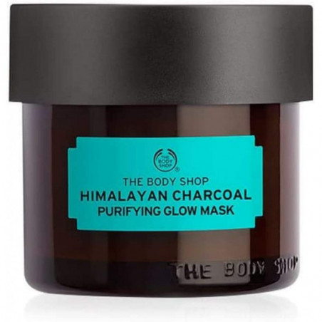 The Body Shop Himalayan Charcoal Purifying Glow Mask 75 ml - For skin that needs extra purification to reveal a healthy, youthfu
