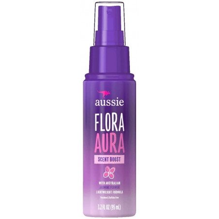 Aussie Flora Aura Scent Boost Spray 95ml - with Austrian Jasmine Flower Lightweight Formula.