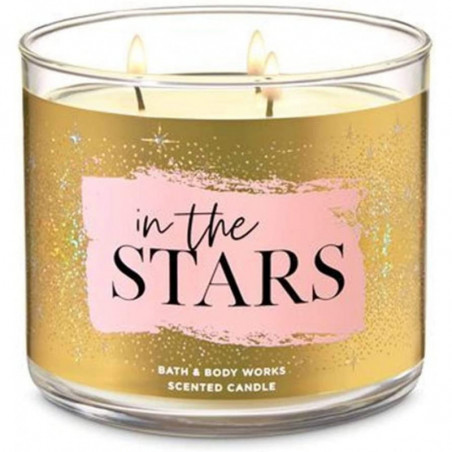 Bath and Body Works In The Stars Scented Candle 3-Wick Candle 411g with Essential Oil