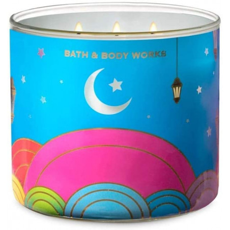 Bath and Body Works Velvet Oud 3wick Candle 411g - with Essential Oils