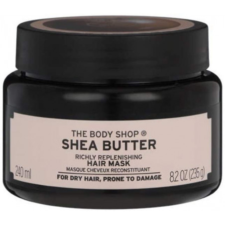 THE BODY SHOP Shea Butter Richly Replenishing Hair Mask for Dry Hair Prone to Damage 240ml