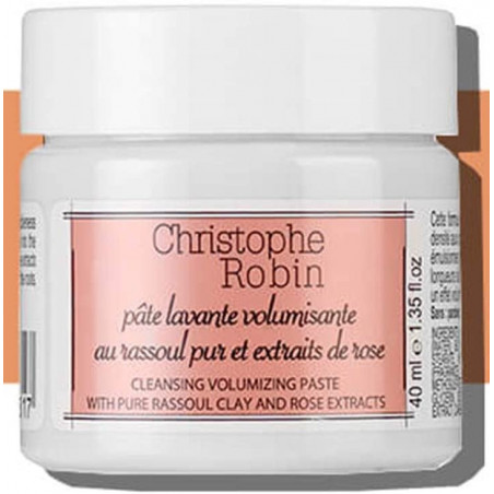 Christophe Robin Cleansing Volumizing Paste with Pure Rassoul Clay and Rose Extracts - 1.35 oz.