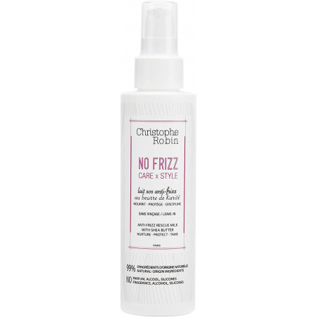 Christophe Robin NO FRIZZ CARExSTYLE - Anti-Frizz Rescue Milk With Shea Butter 150ml -