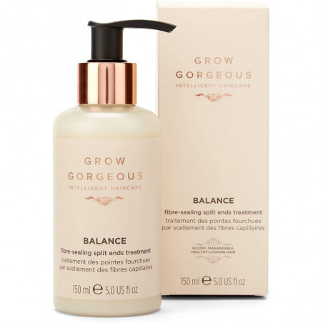 Grow Gorgeous Balance Fibre-Sealing Split Ends Treatment 150ml - Work to nourish and care for hair that is prone to breakage.
