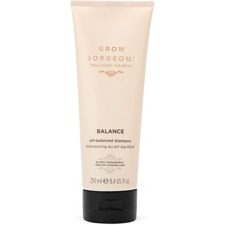 Grow Gorgeous Balance pH-Balanced Shampoo 250ml - Help moisturize hair, giving strands a smoother texture as well as a long-last