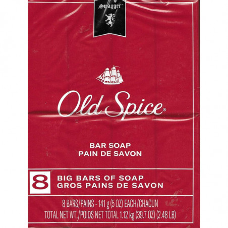 Old Spice Red Collection Swagger Scent Men's Bar Soap 8 Bar