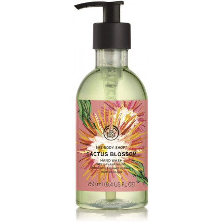 The Body Shop Cactus Blossom Hand Wash, 8.5 Ounce