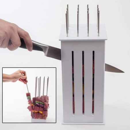 BBQ Tools Portable 16 Holes...