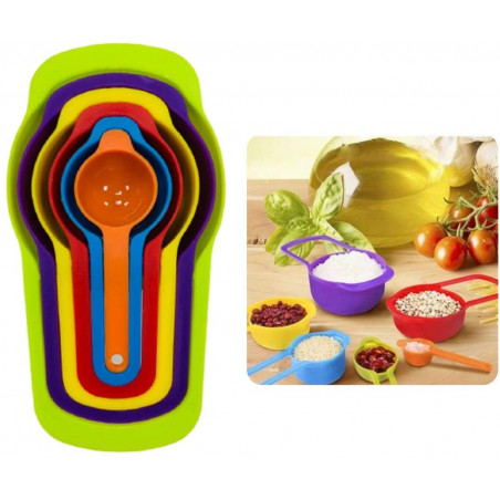 Measuring Cups And Spoon...