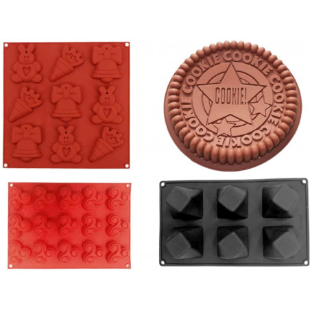 Silicone Molder, Pack of 4...