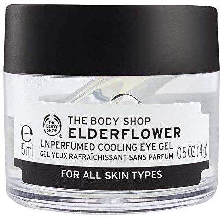 The Body Shop Elderflower Unperfumed cooling Eye Gel, 15ml