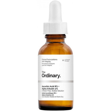 The Ordinary Ascorbic Acid 8% + Alpha Arbutin 2% (A Water-Free, Stable Solution)