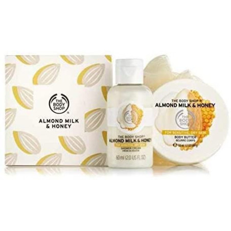 The Body Shop Almond Milk and Honey Gift Set 3 pieces