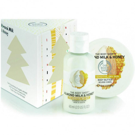 The Body Shop Almond Milk and Honey Treats 2 pieces for dry and sensitive skin
