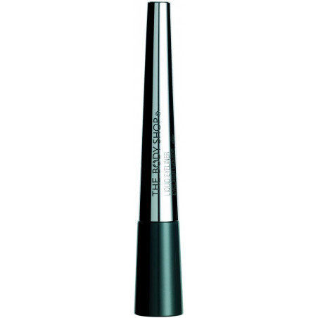 The Body Shop Eyeliner Liquid Black 3ml - for the perfect intense flick.