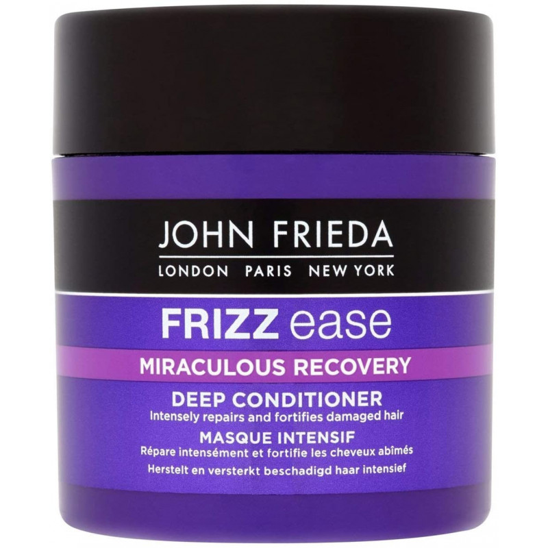 JOHN FRIEDA Frizz Ease Miraculous Recovery Deep Conditioner 150ml - Hair repairing treatment for dry and damaged hair