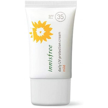 Innisfree Daily UV Protection Cream Mild SPF 35 PA++ 50ml - A refreshing and moisturizing water-based UV protection cream with s