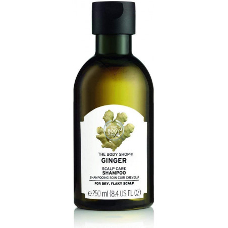 The Body Shop Ginger Anti-Dandruff Shampoo 250ml - removes loose flakes and soothes the scalp.
