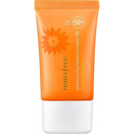 Innisfree Extreme UV Protection Cream 100 High Protection SPF50 PA 50ml -A long-lasting cream with Ultraviolet protection from t