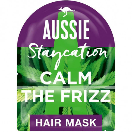 Aussie Calm The Frizz Hair Mask with Hemp Seed Extract from Australia 20ml