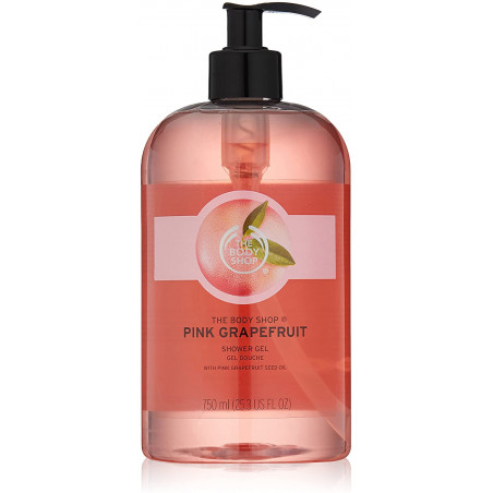 The Body Shop Pink Grapefruit Shower Gel 750ml - Cleanse and develop your skin in softness.
