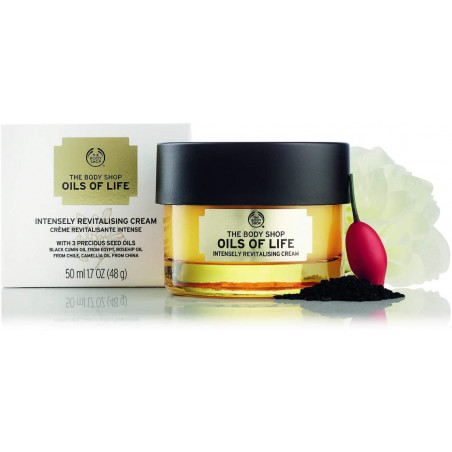 The Body Shop Oils Of Life Intensely Revitalizing Cream For Women, 50.27 ml