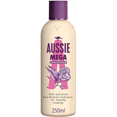 Aussie Mega Conditioner For Hair That Needs Volume Every Day 250ML. Paraben Free