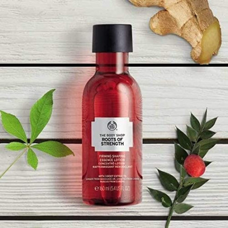 The Body Shop Roots of Strength Firming Shaping Essence Lotion