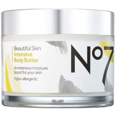 No7 Beautiful Skin Intensive Body Butter 270ml - Leaves your skin moisturized and soft.