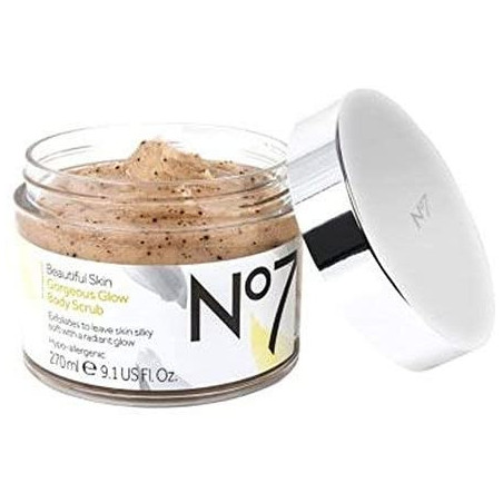 No7 Beautiful Skin Gorgeous Glow Body Scrub