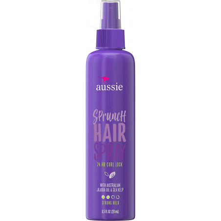 Aussie Sprunch Non-Aerosol Hairspray with Australian Jojoba Oil &amp
